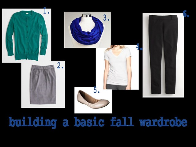 Building A Basic Fall Wardrobe