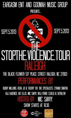 Eargasm Entertainment Stop The Violence