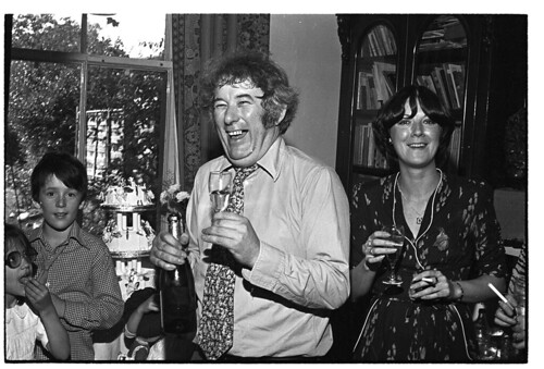 Seamus Heaney and Family, 1979 (Burns Library)