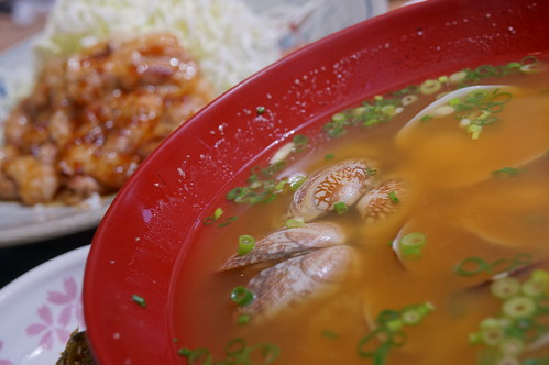 Asari miso soup SONY NEX-5R
