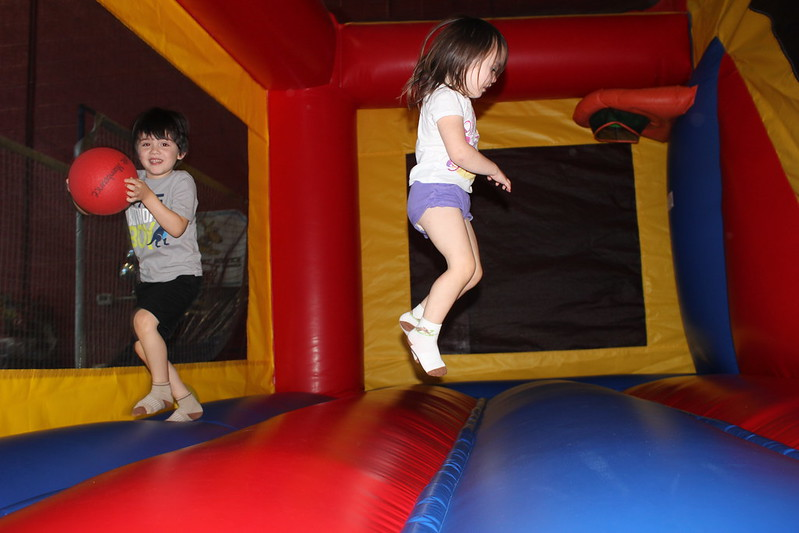 bounce house birthday