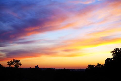 morning sunrise dawn cloudy canon5dmarkii