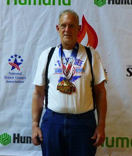 John Trainer - Tennessee Corizon employee takes home national gold