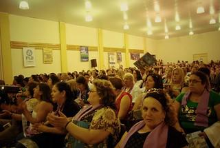 Cerca de 600 mulheres participaram do encontro em Porto Alegre. FOTO COMUNICA