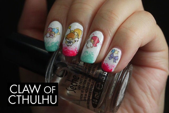 Born Pretty Store Sanrio Twin Stars Water Decals