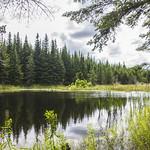 Lac caché