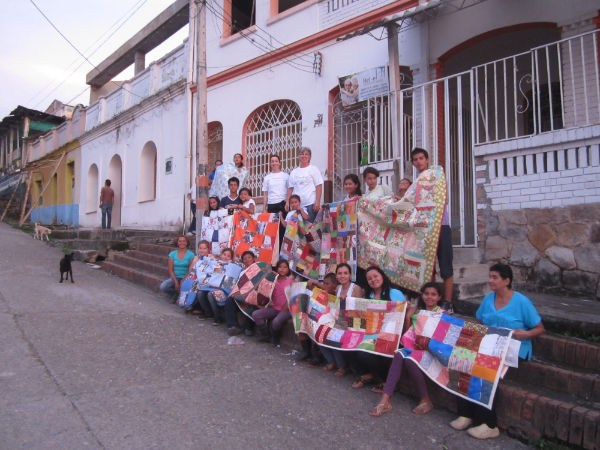 Quilting Happiness Story: Quilts Delivering Comfort Around the World