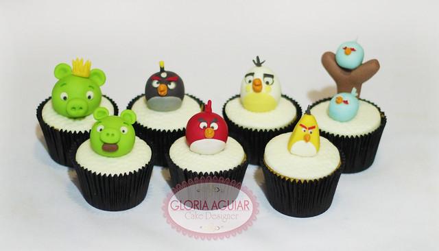Expo Cake Design 2018 Rio De Janeiro : Cupcake Angry Birds Flickr - Photo Sharing!