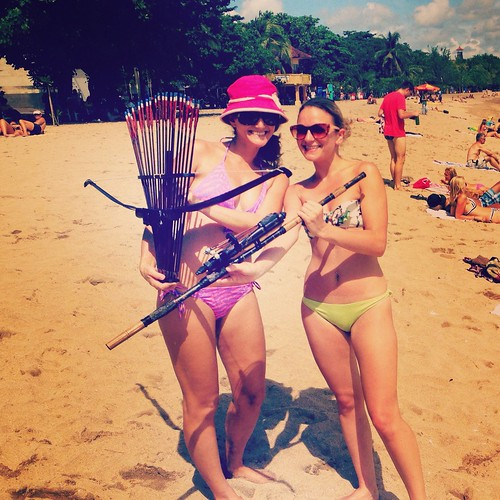 beach weapons?