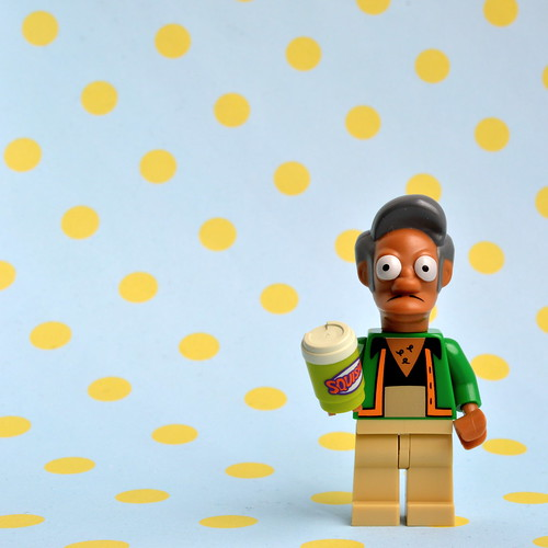 The Simpsons Minifigures: Apu