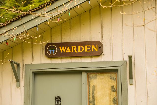Warden sign