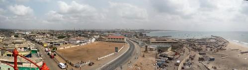 africa lighthouse landscape ghana jamestown accra