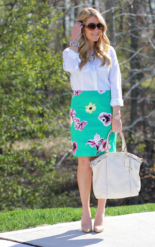 Punk Floral Skirt Sira and Mara Jewelry