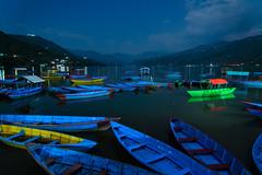 Lake Phewa at Night