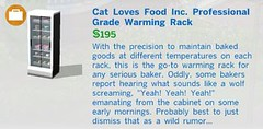 Cat Loves Food Inc Professional Grade Warming Rack