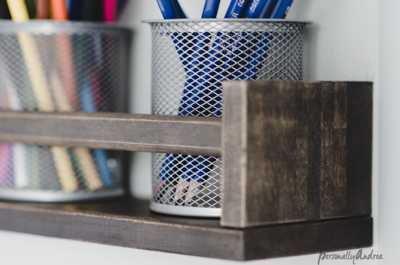 IKEA Spice Rack as Desk Organizer Hack
