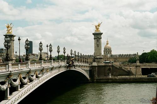 Мост Александра III. Париж. Pont Alexandre III. Paris. France