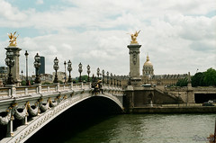 Pont Alexandre III. Paris. France