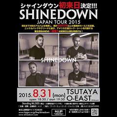 @Shinedown in Tokyo, Japan! #ShinedownTokyo #Shinedown Info: http://ift.tt/1GtGzpD