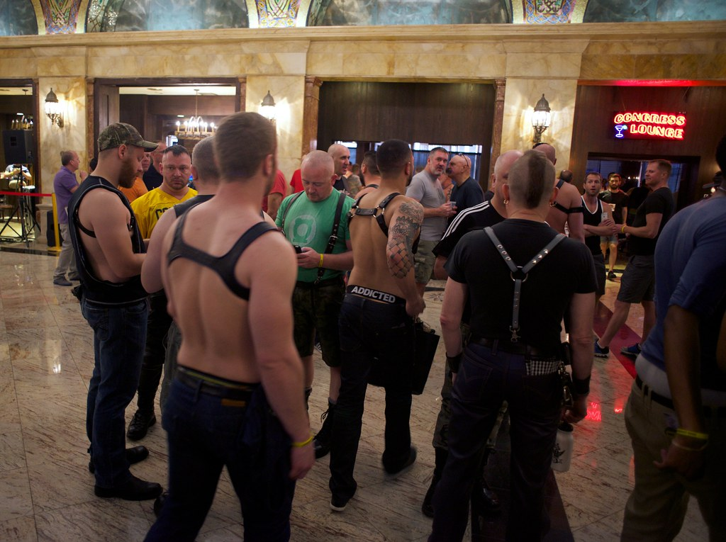 ... Congress Plaza Hotel, International Mr Leather 2015, Chicago | by  HardieBoys