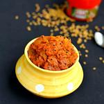 Mango thokku recipe-Mangai Thokku
