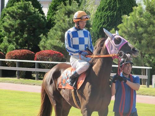 金沢競馬場の池田敦騎手