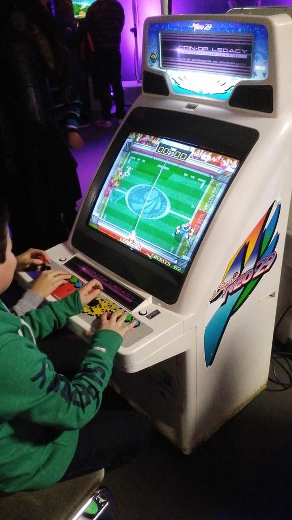 borne arcade windjammers