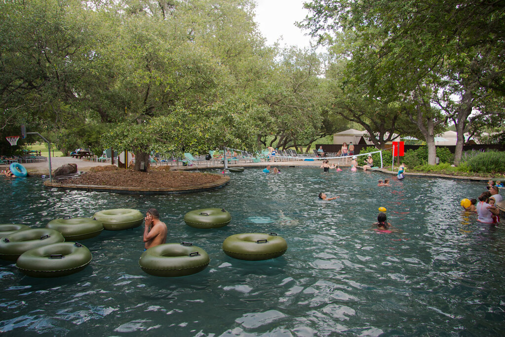 Pools at Hyatt Hill Country