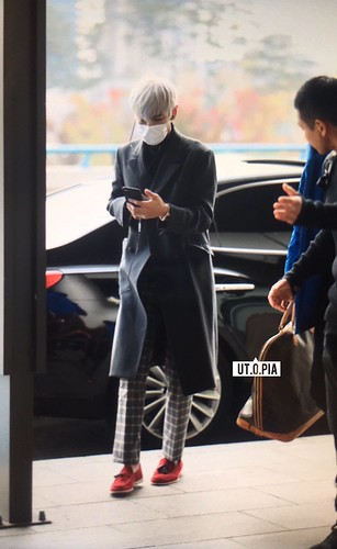 TOP Departure Seoul to Tokyo 2016-11-03 (8)
