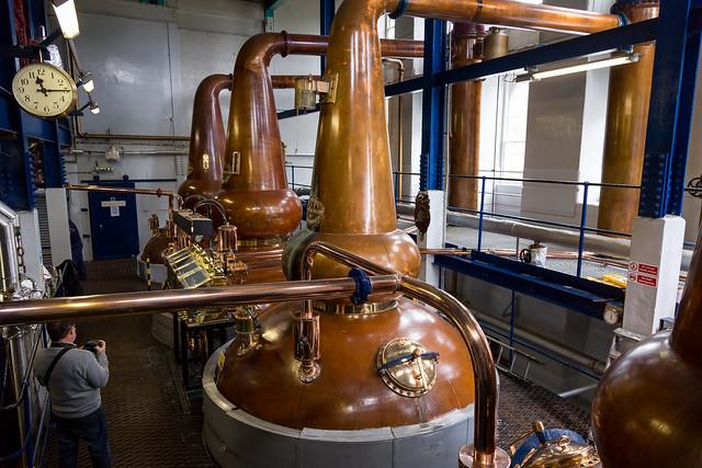 Scotch Stills at Deanston