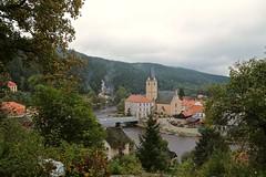 View from Rožemberk Castle 03