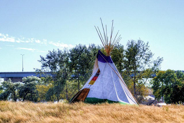 Tepee at Lakeshore State Park