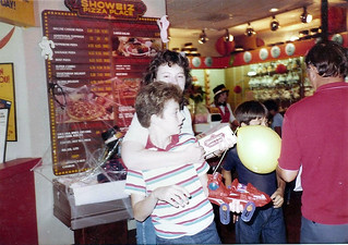 Birthday Party Showbiz Pizza He-Man Attack Track 1981