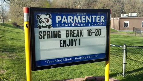 Parmenter: spring break!