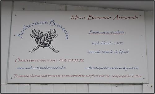 Brasserie Authentique, Blaton, Belgium: 2012.04.07#0096