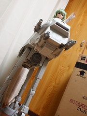 【Hasbro】 MEGA VEHICLE STAR WARS AT-AT 15