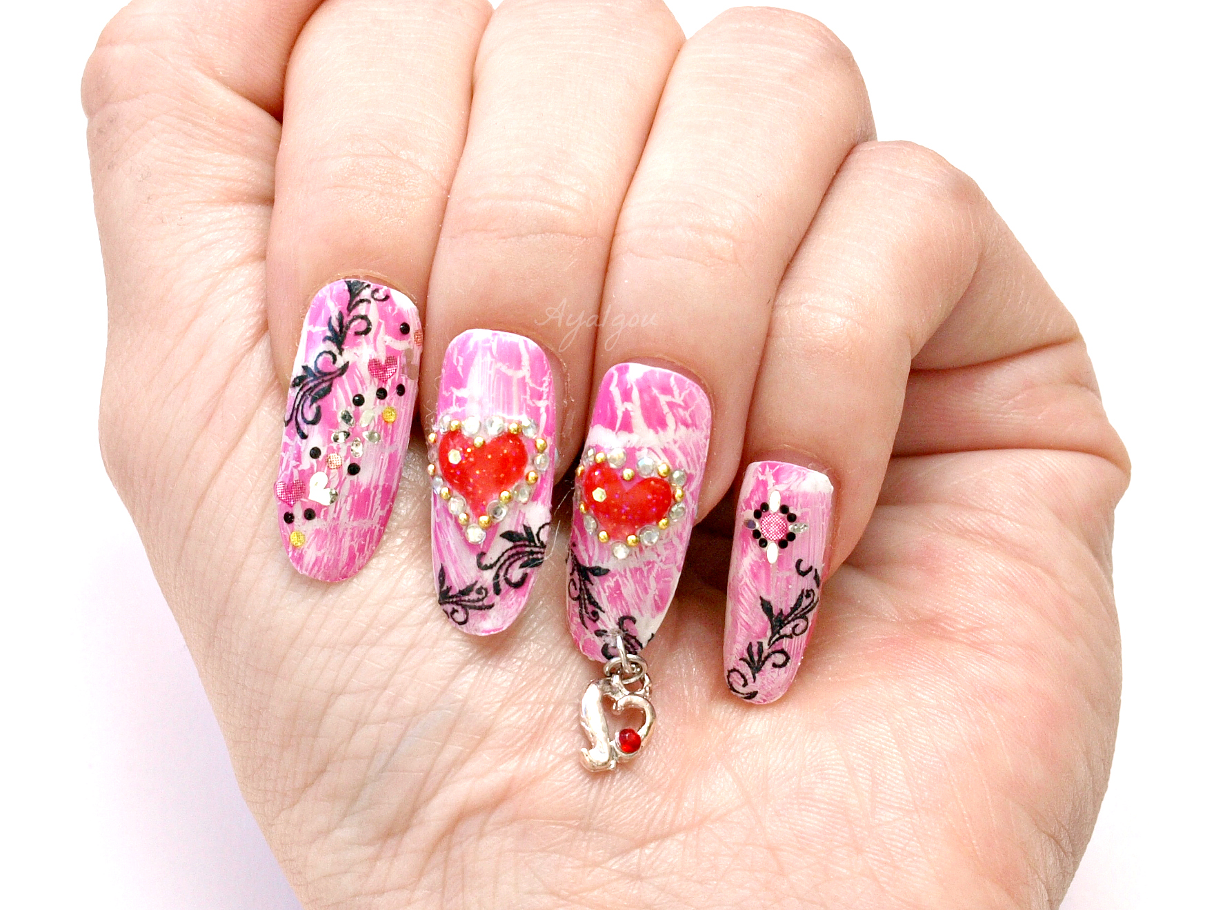 Wonderful world of Minnie: Nail-Up! Japanese Nail Art