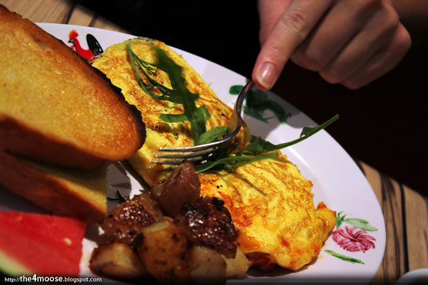 Cafe Epicurious - Ratatouille Omelette