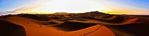 sahara sunrise sand desert dunes marocco merzouga