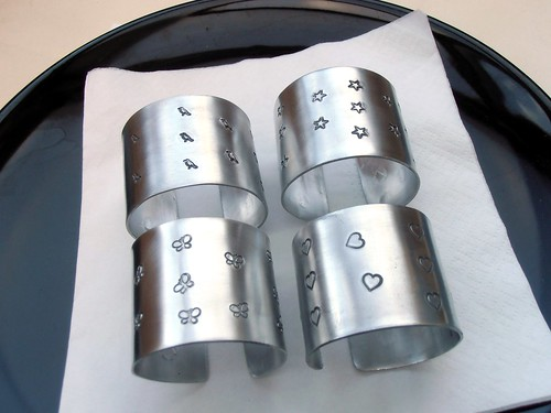 metal napkin rings by greensladejenny