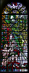 St Michael with Adam and Eve