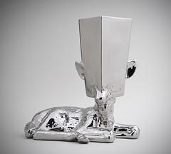 Resting Deer Vase
