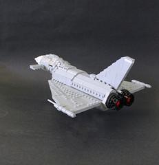 Eurofighter Typhoon by Lego Junkie.