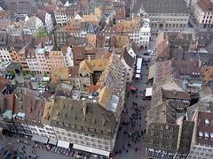 Strasbourg vue de la cathédrale