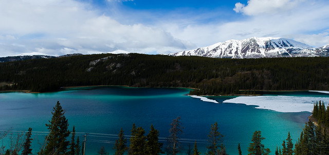 Panorama: Emerald Lake