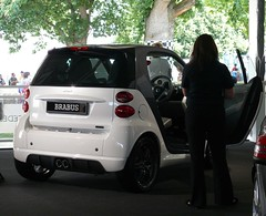 Smart Brabus white 2011 hr