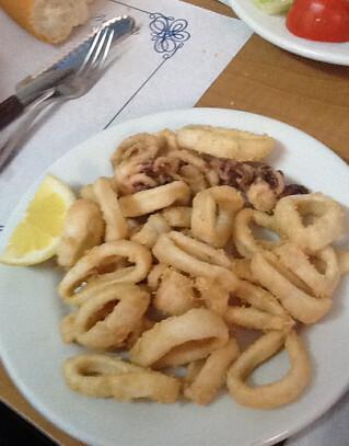 Barcelona | Can Maño | Calamares a la andaluza