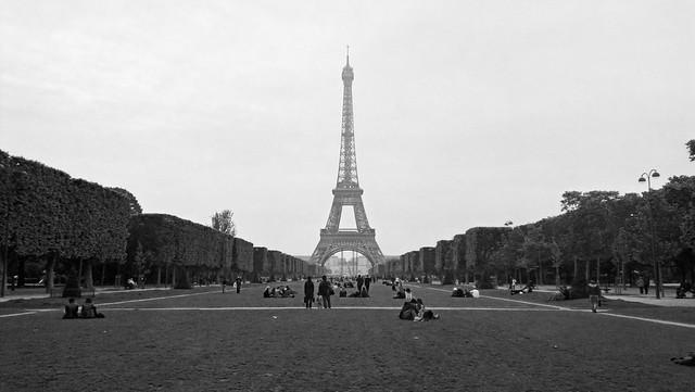 Heading to Eiffel
