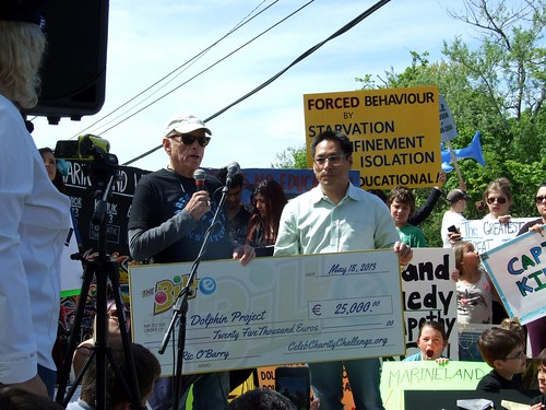 Marineland Animal Defense Demo - Rick O'Berry