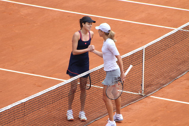 Ana Ivanovic and Petra Martic